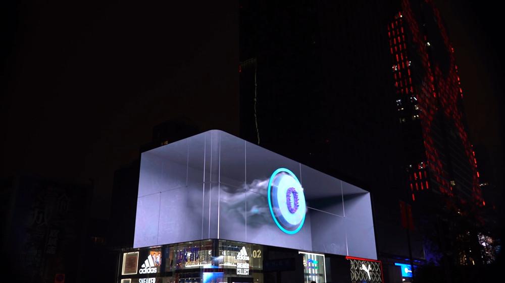 太古里裸眼3D大屏现象级爆火的背后,是一群年轻人的赛博朋克